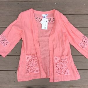 """NWT""""Show me your mumu"""" MARCIA & ME lace top"""